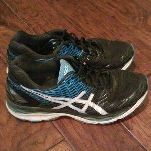 Mens Asics gel nimbus 18 running shoes